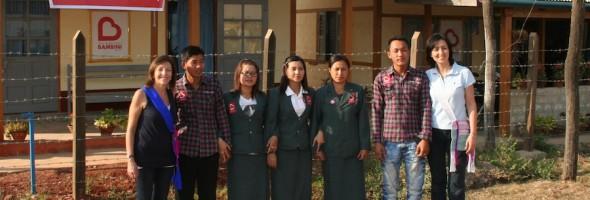 Batte il cuore di Brescia nell'ospedale in Myanmar
